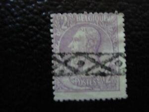 BELGIQUE-timbre-yvert-et-tellier-n-52-obl-A6-stamp-belgium