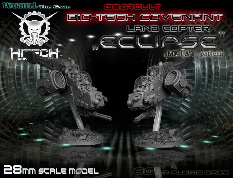 HITECH MINIATURES - MAC003 Land Copter Eclipse Mkl A Warhammer 40k 40000