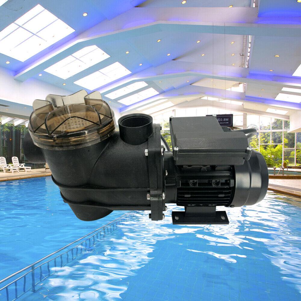 Pompe de circulation électrique portable pompe à eau filtre de piscine 220V 180W