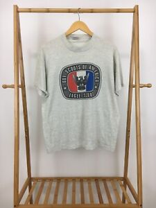 VTG-Boy-Scouts-Of-America-Eagle-Scout-Short-Sleeve-Single-Stitch-T-Shirt-L-USA
