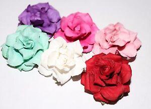 Men's Rose Flower Lapel Pin - Multiple Color Choices