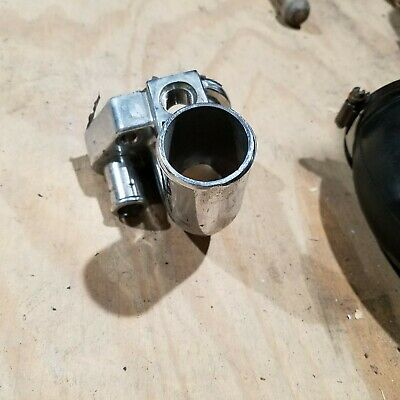 79-93 Ford Mustang GT SVT Cobra 302 5.0L V8 Water Neck Thermostat Housing Chrome