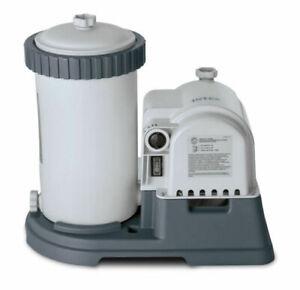 Intex 2500 GPH Krystal Clear GCFI Pool Filter Pump With Timer 633t 28633EG