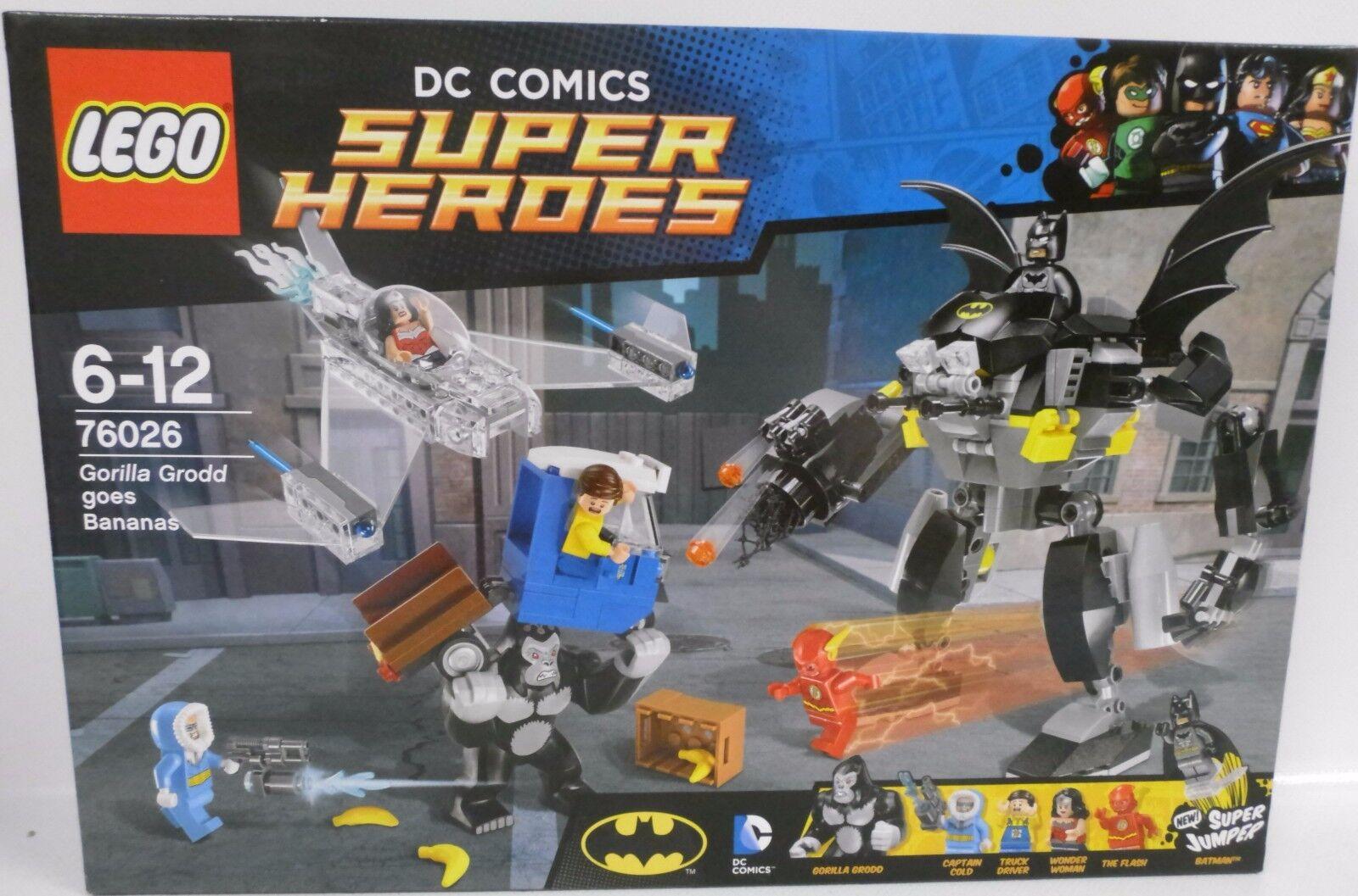 NEUF  LEGO ® super heroes 76026 Batman gorille grodds crise de rage  OVP