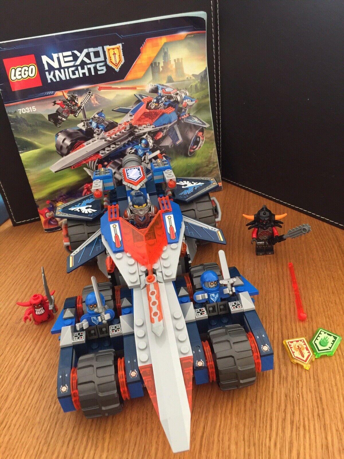 Lego Nexo Knights Set 70315 With Instructions