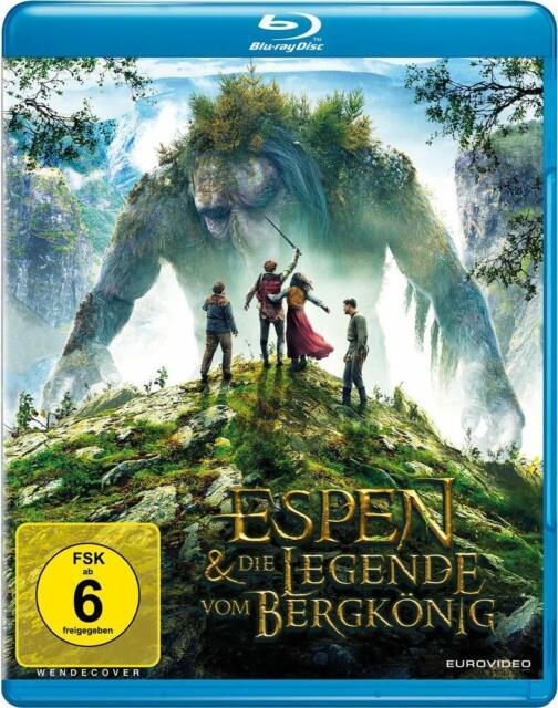 Espen und die Legende vom Bergkönig [Blu-ray/NEU/OVP] Fantasyfilm aus Norwegen