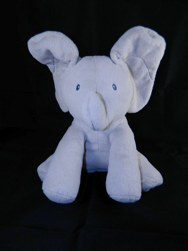 Gund Baby Flappy the Elephant Animated Plush Elephant Toy Plays Peek A Boo Sings