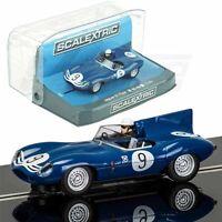 Scalextric Jaguar D-type 9 Nurburgring 1957 Dpr W/ Light 1/32 Slot Car C3730 on sale