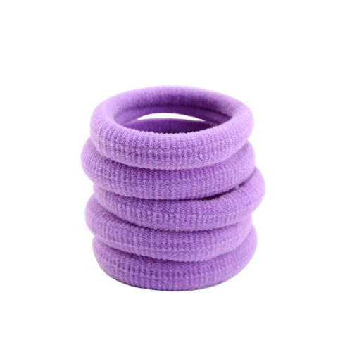 10pcs Women Girls Elastic Hair Ties Band Ropes Ring Ponytail Holder Accessories