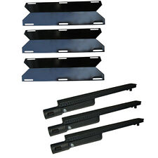 BBQ Factory 4 Pack Kenmore Replacement Gas Burners Heat Plates X000PPEX3B