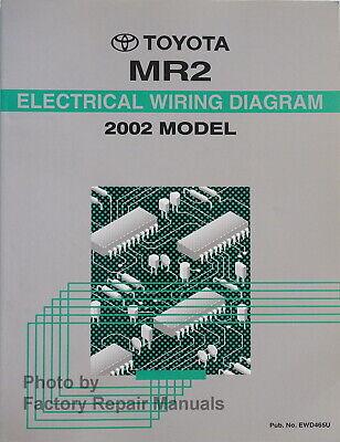 [SCHEMATICS_4FR]  2002 Toyota MR2 Spyder Electrical Wiring Diagrams Original Factory Manual |  eBay | 2002 Toyota 1 8l Engine Diagrams |  | eBay