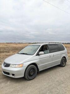 2002 Honda Odyssey SE