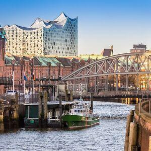 Hambourg-Escapade pour 2 personnes directement le Hbf incl. hôtel & petit-déjeuner buffet  </span>