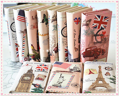 Fashion Lady Women Girl Long Purse Clutch Wallet Design Bag Printing Card Holder