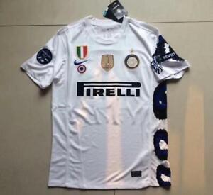 Maglia Inter 2010/11 Triplete Sneijder Milito Zanetti Cambiasso Icardi Skriniar Fabrication Habile