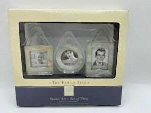 NEW Hallmark The Family Tree Starter Kit Set of Three Photo Holders
