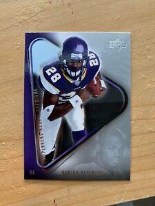 2007 Upper Deck Adrian Peterson Rookie Card Minnesota Vikings Near Mint RC #21