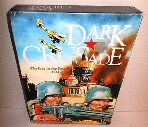 Boxed-BOARD-WAR-GAME-WW2-Dark-Crusade-War-in-the-East-1941-45-op-1984-3W-Games