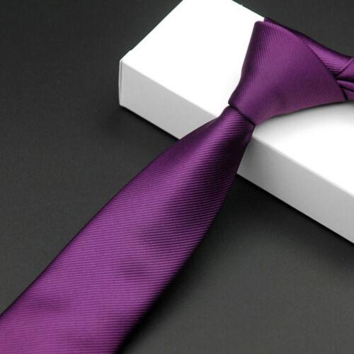 Men Fashion Striped Plaids Floral 6cm Skinny Necktie Wedding Casual Tie