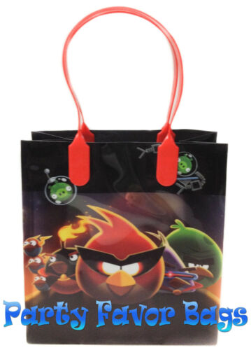 30 pcs Angry Birds Party Favor Bags Candy Treat Birthday Loot Gift Durable Bag