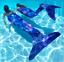 Damen/&Kinder Meerjungfrau Badeanzug Monoflosse Kostüm  Schwanz Bademode Strand