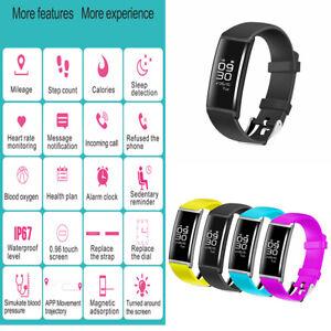 X9-Blood-Pressure-Oxygen-Heart-Rate-Fitness-Smart-Watch-Bracelet-Wrist-Band-ER15