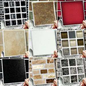 Image Is Loading Self Adhesive Wall Tile Cover Up Stickers Transfers