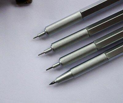 2.0mm 0.9/1.0mm 0.7mm 0.5mm Drafting Metal Mechanical Pencil For Drawing