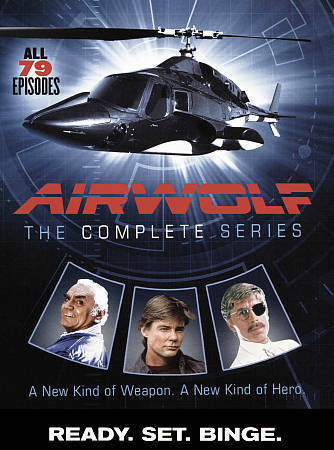 Airwolf: The Complete Series (DVD, 2016, 14-Disc Set) Jan-Michael Vincent, New