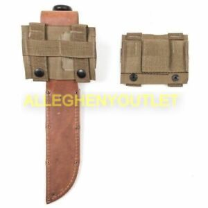K BAR MOLLE PALS Knife Adapter Coyote USMC USGI US Military Issue NEW