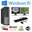 Ultra-Rapida-Paquete-De-Pc-Para-Juegos-Intel-i7-8GB-1TB-Win-10-4GB-GTX-1650-PC-de-pantalla-dual miniatura 1