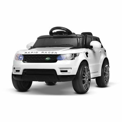 Kids Ride-On Car Range Rover Sport Coupe Electric Toys Battery Remote White 12V