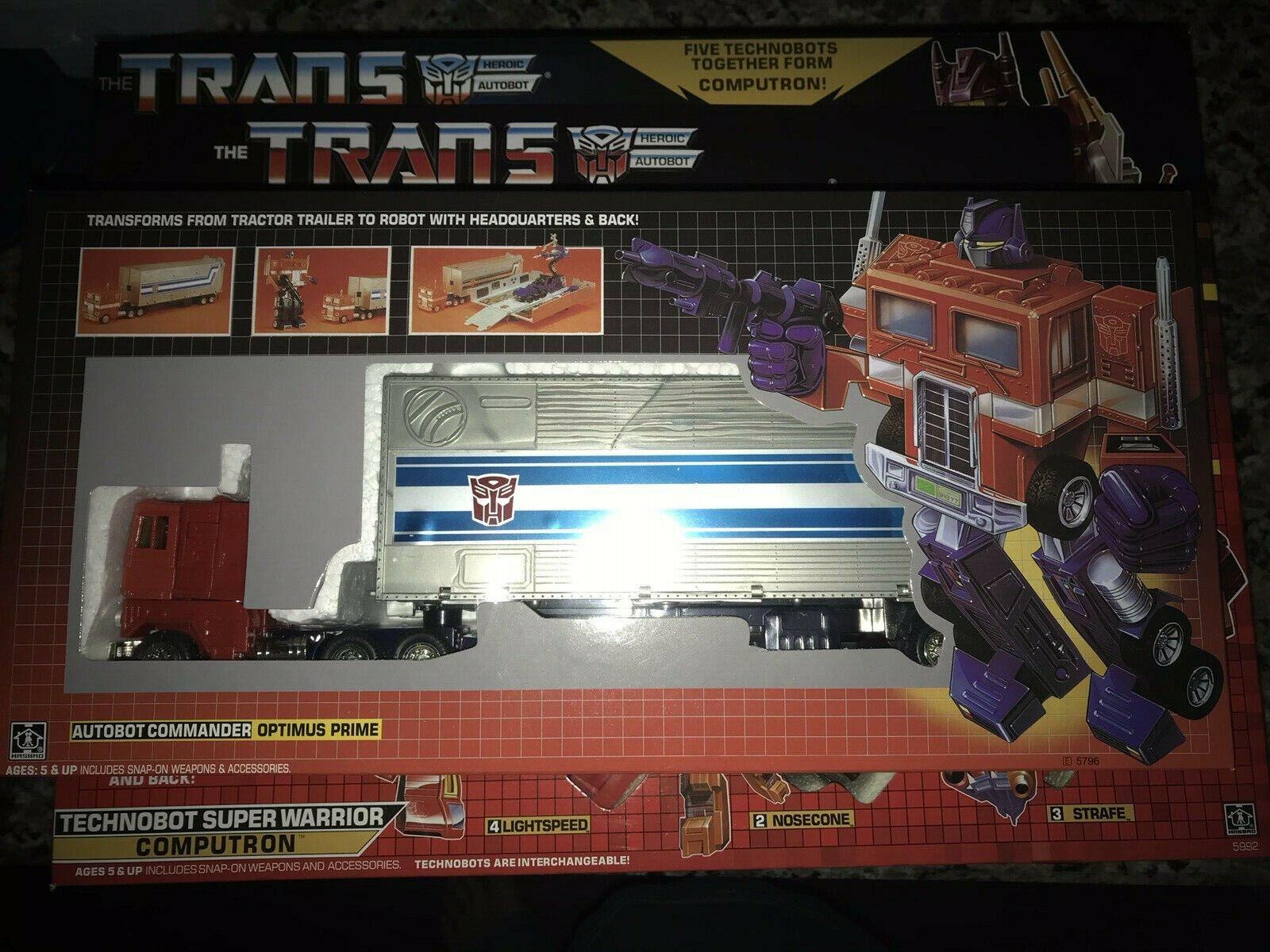 Transformers G1 OPTIMUS PRIME riemettere ko Venditore USA, LE NAVI immediatamente