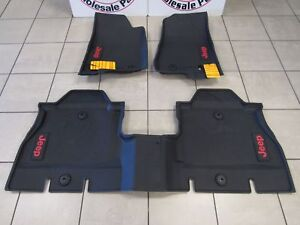 Image Is Loading JEEP WRANGLER JL All Weather Rubber Floor Mats