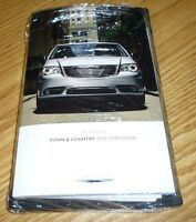 2015 Chrysler Town Country User Guide Manual Dvd W/case 15 Owners