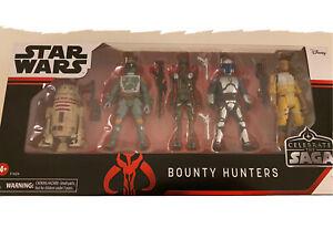 Star Wars celebrar a saga caçadores de recompensas Pack Hasbro (Disney)