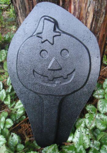 Pumpkin plant spike mold plaster concrete casting mould