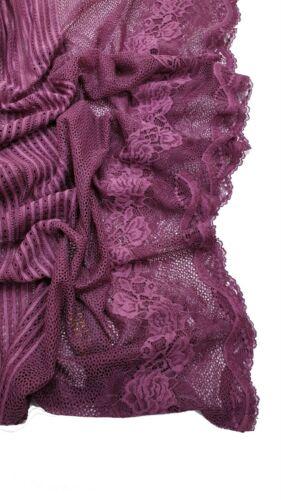 Pretty kuwaiti Lace Hijab scarf shawl wrap occasion plain Party top quality