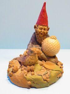 BIRDIE 1983~Tom Clark Gnome~Figurine~Cairn Studio Item #75~Retired~ SIGNED