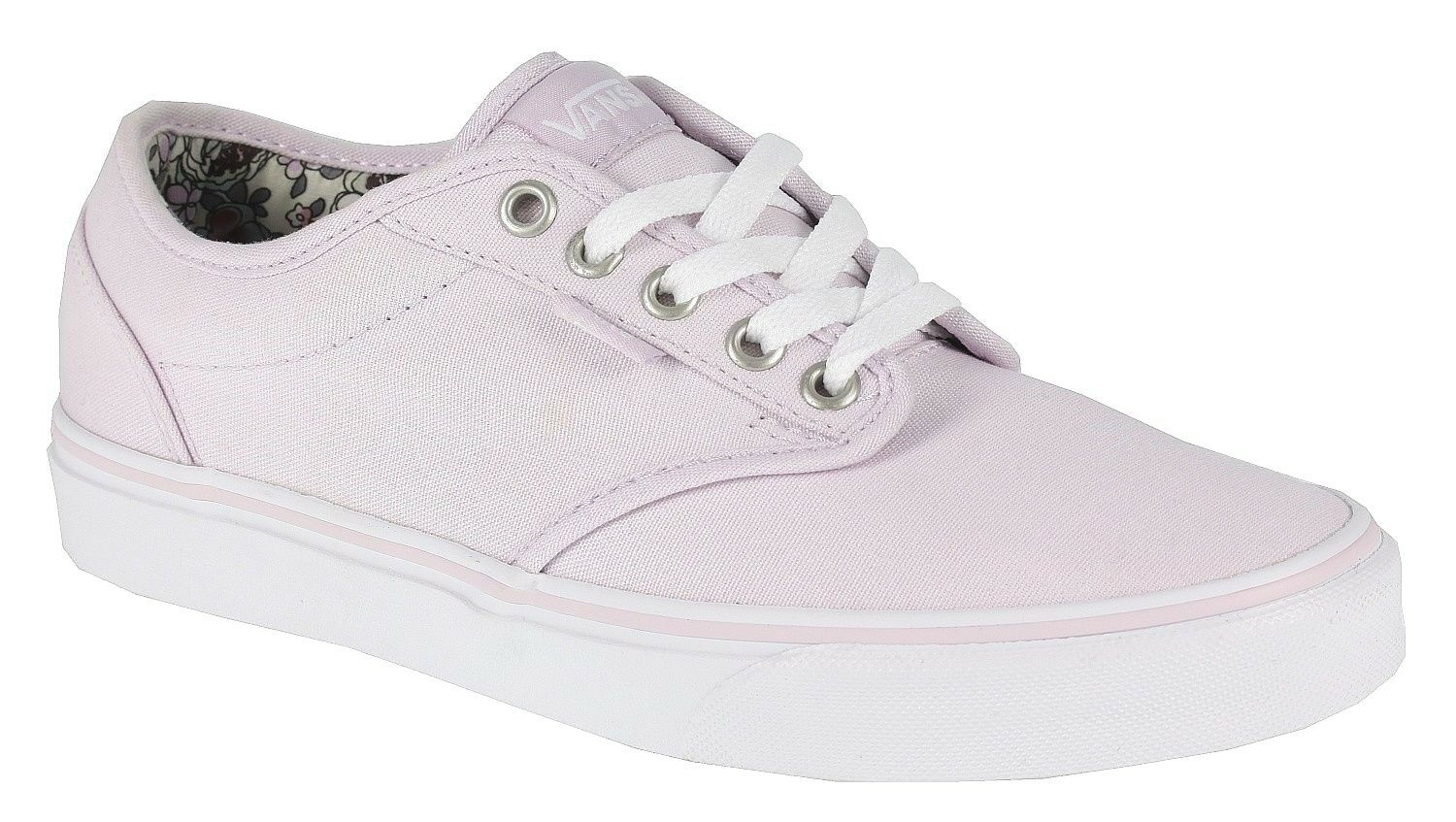 Vans Atwood (Canvas) Lilac rose Floral Casual  Chaussures  femmes  SIZE 10.5