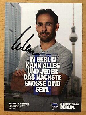 Michael Hartmann AK Hertha BSC BERLIN Autogrammkarte 2018//19 original signiert