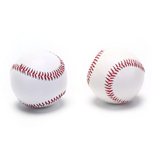 9 baseballs pvc upper rubber inner soft hard balls softball training exercUULK