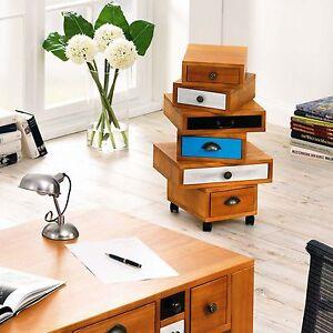 Kommode design büro  Büro Rollcontainer Mixed im Used Look Kommode Schubladenschrank ...