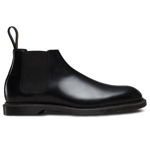 1b4df8032df Details about Dr.Martens Wilde Polished Smooth Black Mens Boots