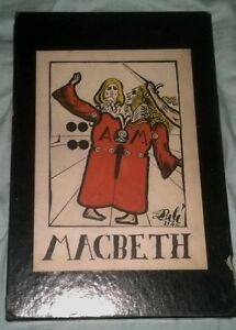 Macbeth-illustrated-by-Salvador-Dali-1948-very-rare-MAKE-OFFER
