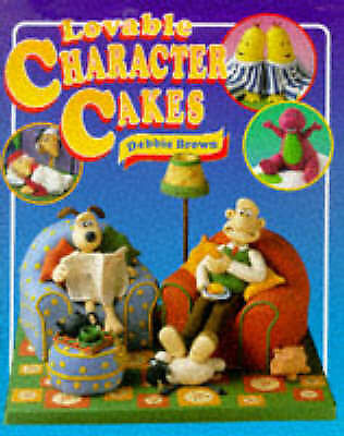 1 of 1 - Debbie Brown LOVABLE CHARACTER CAKES