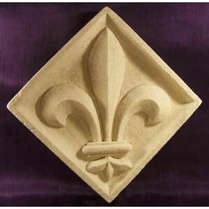 Brillant Bas Relief Fleur De Lys Sainte Chapelle Paris En Pierre
