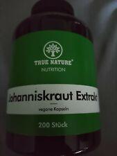 Johanniskraut Extrakt 8:1 Kapseln - Hochdosiert mit 10.800mg
