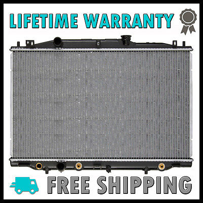 New Replacement Aluminum Radiator for 2003-2004 Honda Accord 2.4L L4 Fits CU2599