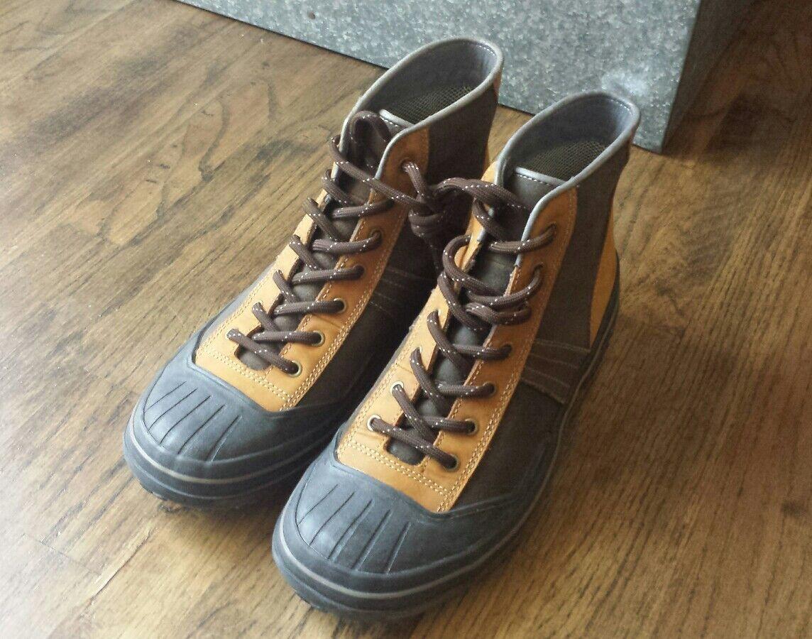 03d30c03 Para Hombre botas Neopreno Cuero Impermeables Clarks nbauxo216-Botas ...